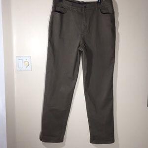 High Rise Amanda Gloria Vanderbilt Green Jeans 14